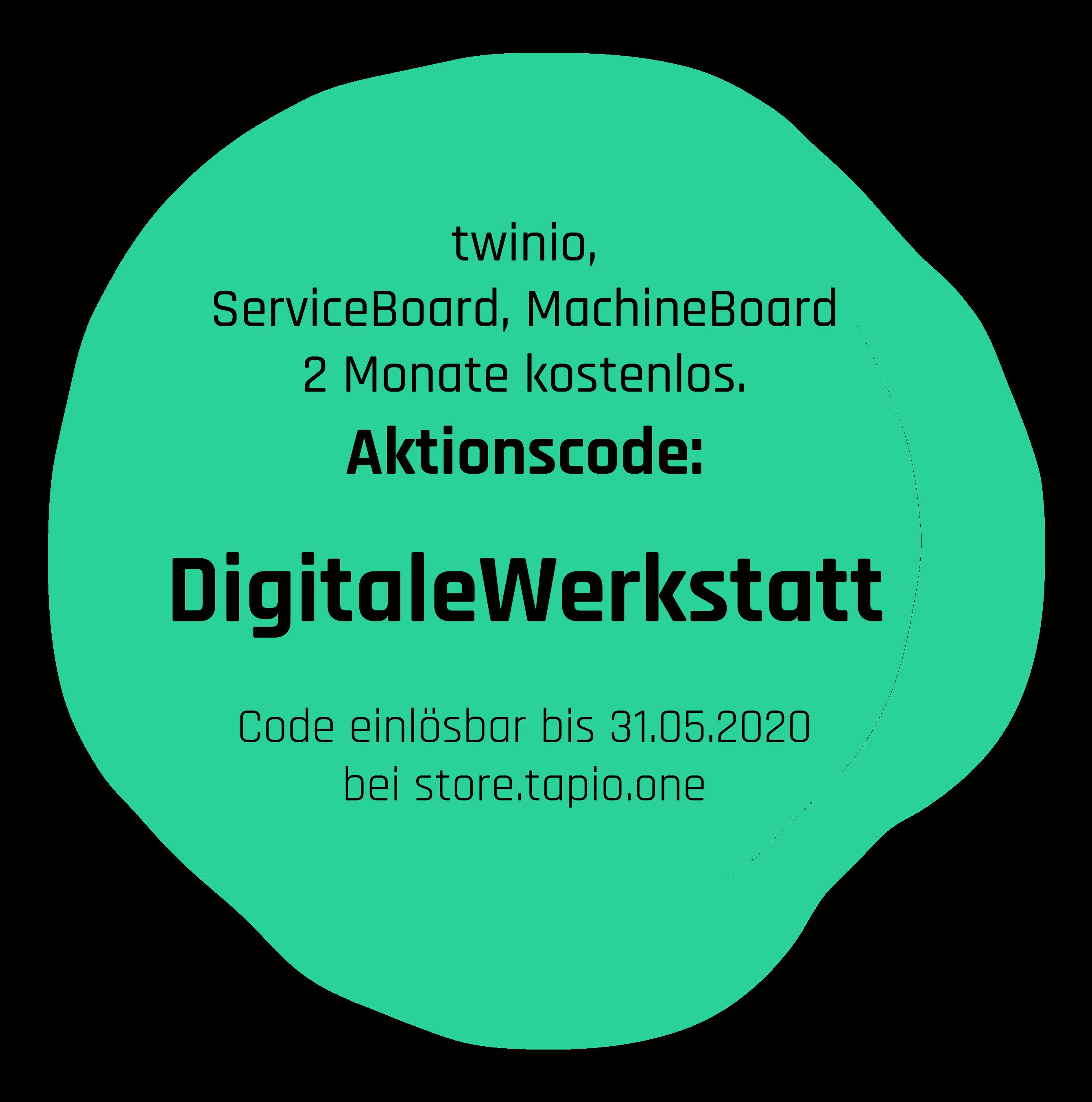 tapio Aktionscode DigitaleWerkstatt kostenlos ServiceBoard