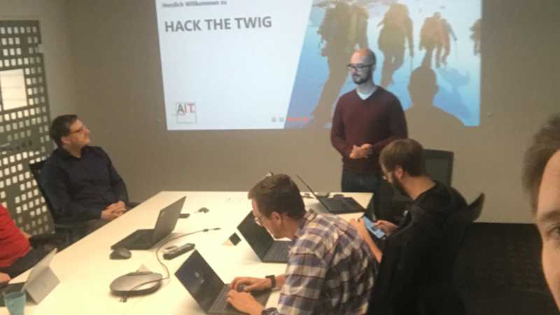 Hack the TWIG - Der kleiner Bruder von Hack the Wood
