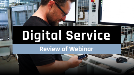 Review of the webinar Digital Service event image