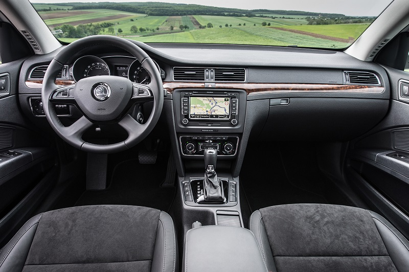 Skoda Superb Stationwagen Interieur