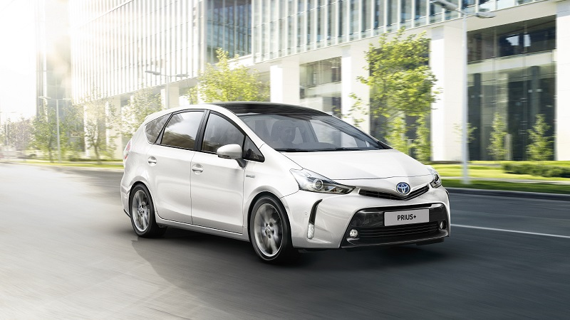 Toyota Prius MPV Automaat Model Voorkant