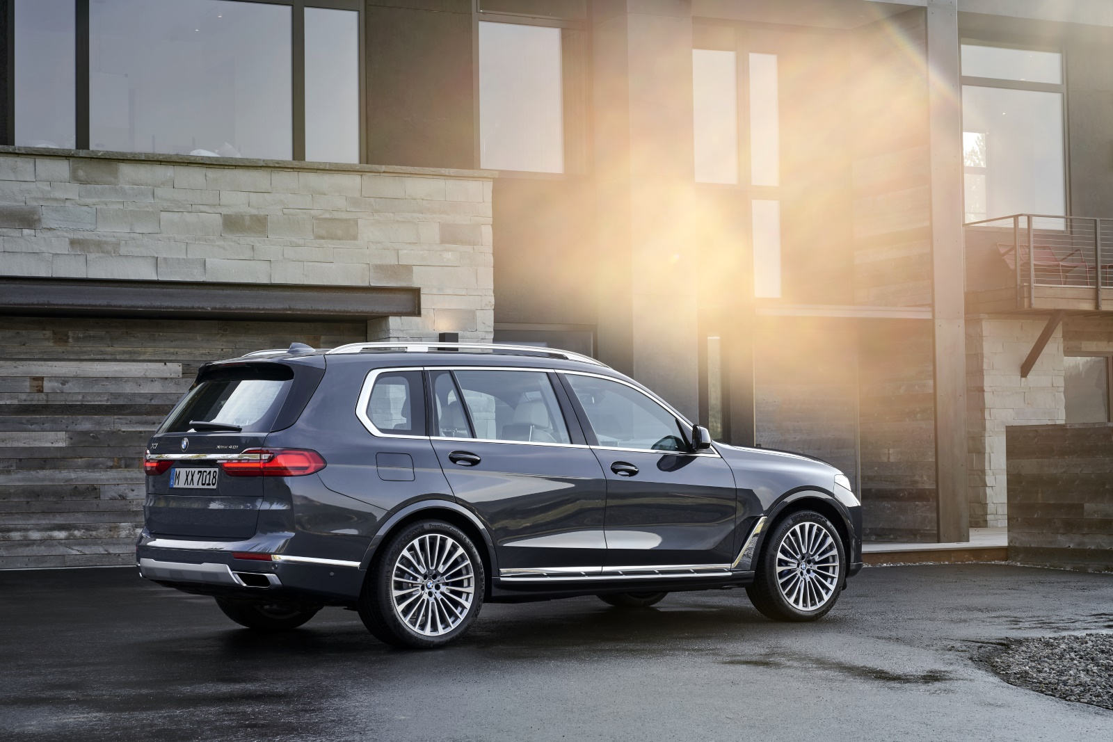 BMW X7 SUV Automaat Achterkant
