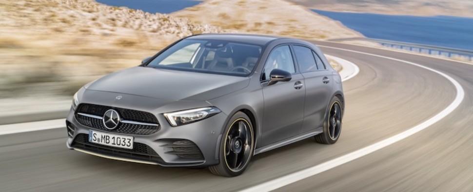 Dit Is De Nieuwe Mercedes A Klasse Autotrack