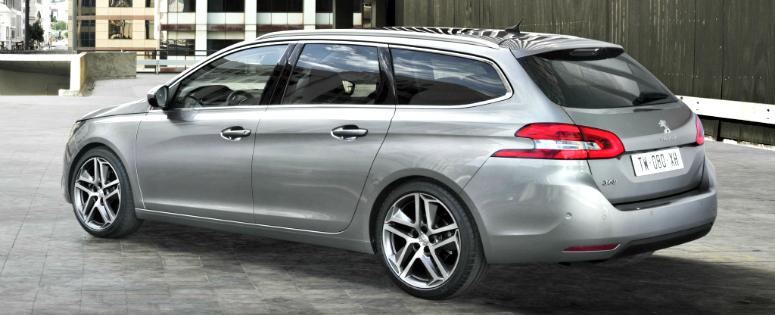 Peugeot 308 SW: Stationwagon op 308 basis