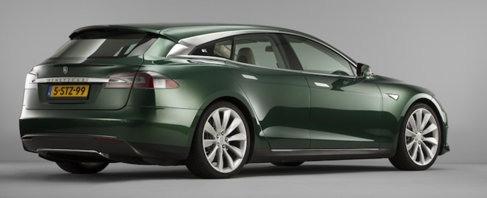Nederlandse Tesla Model S Shooting Brake is eindelijk hier!