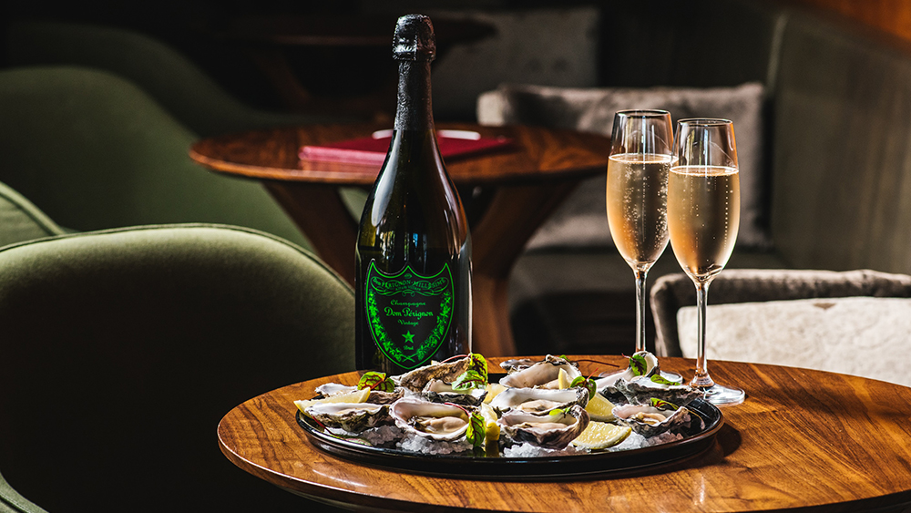 Dom Perignon pop-up at Grain bar by Four Seasons Hotel Sydney - Vivid Sydney