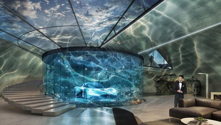 Aston Martin Will Now Build You a Bespoke Car Garage Worthy of a Bond Villain