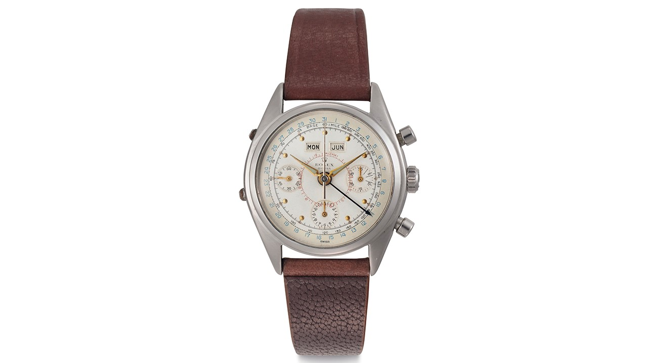rolex-stainless-steel-triple-calendar-chronograph-watch
