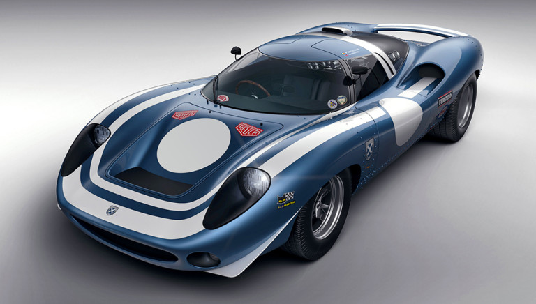 This Stunning New Ecurie Ecosse Racer Pays Tribute to the Unfulfilled Potential of a '66 Jaguar
