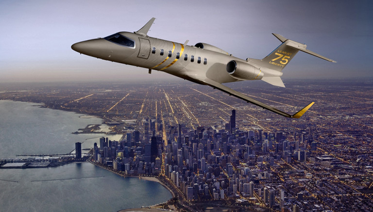 Learjet's 75 Liberty Light Jet Can Be Yours for $14.1 Million