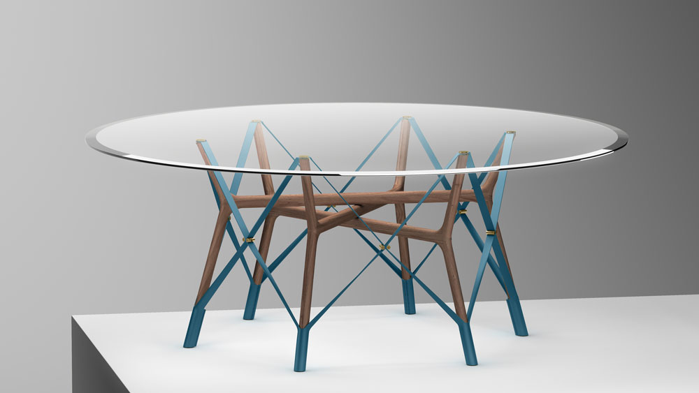 serpentine table atelier oi