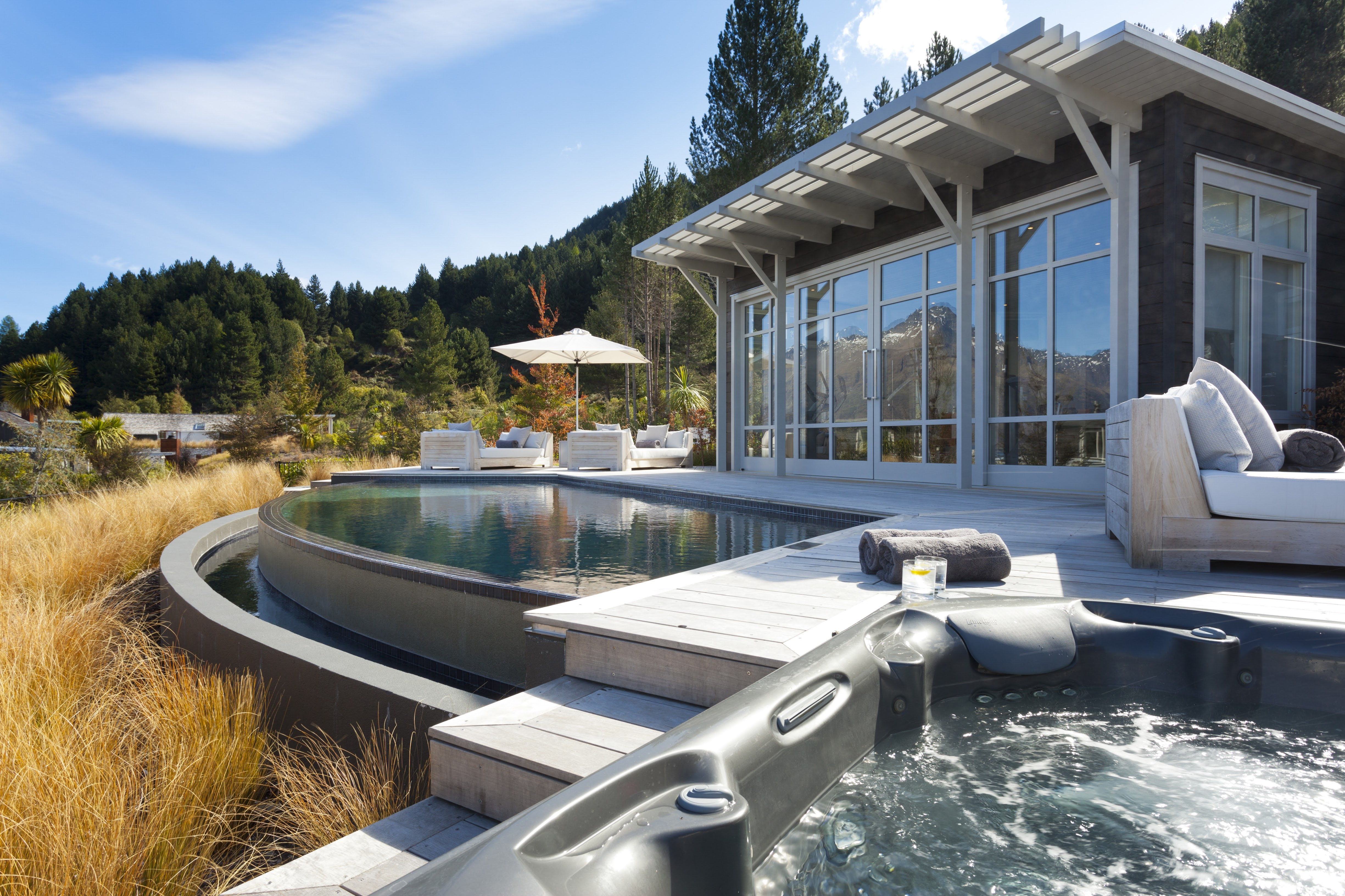 Matakauri Lodge Spa, Pool and Jacuzzi