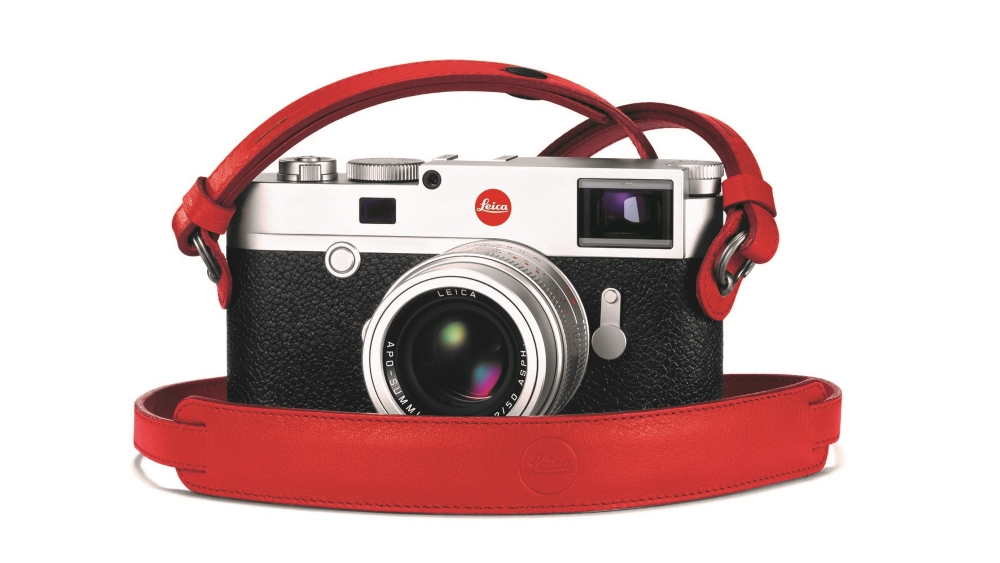 18577 Leica M10 Carrying Strap red