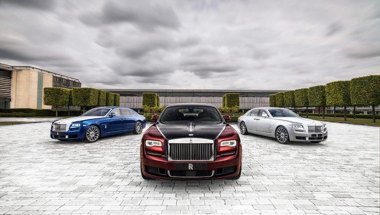 Rolls-Royce Says Goodbye to the Ghost With a New Limited-Edition Zenith Collection