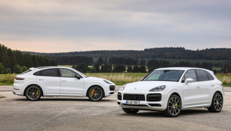 Porsche's Latest E-Hybrids Are the Most Powerful Cayenne Models Ever