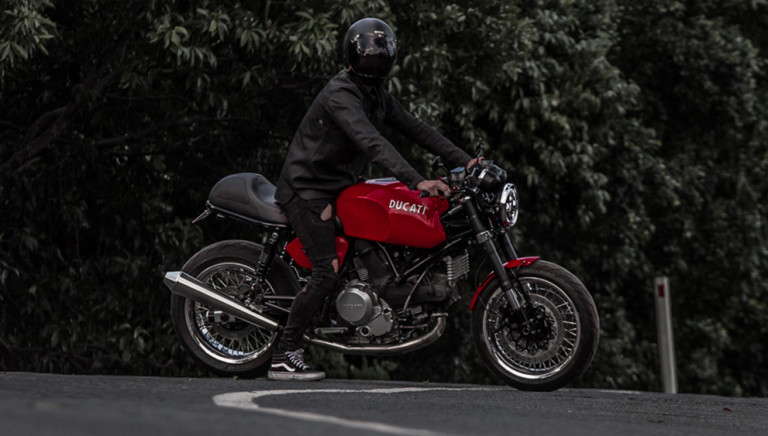 This Beat-Up Ducati GT1000 Café Racer Was Fully Restyled. Now, It's Retro Perfection