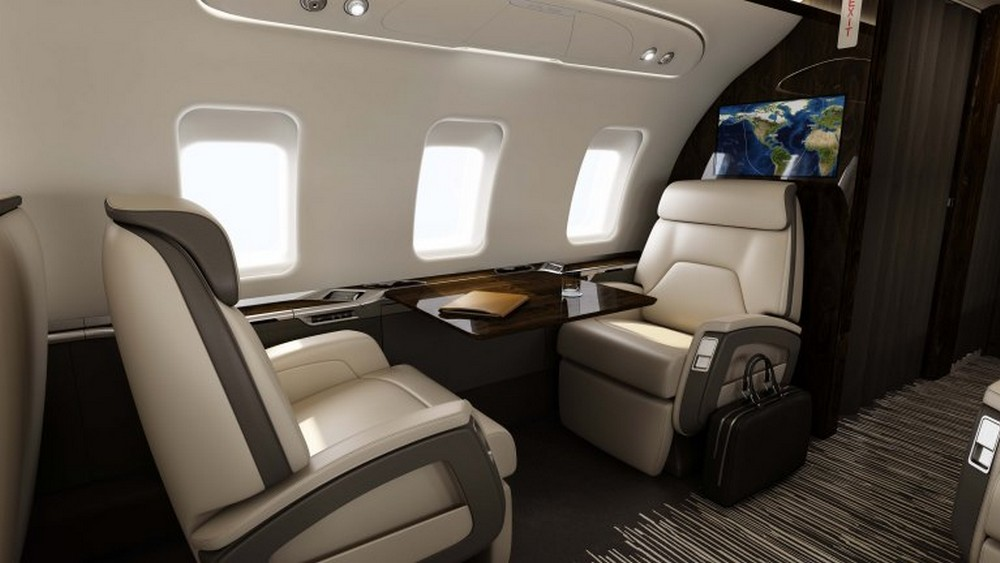 bombardier challenger650 single-seats-props