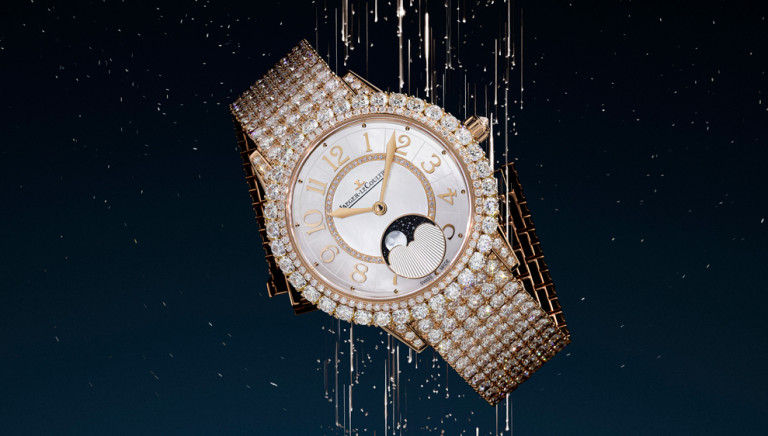 Jaeger-LeCoultre's Latest Moonphase for Women Is an Over-the-Top Ode to Diamonds