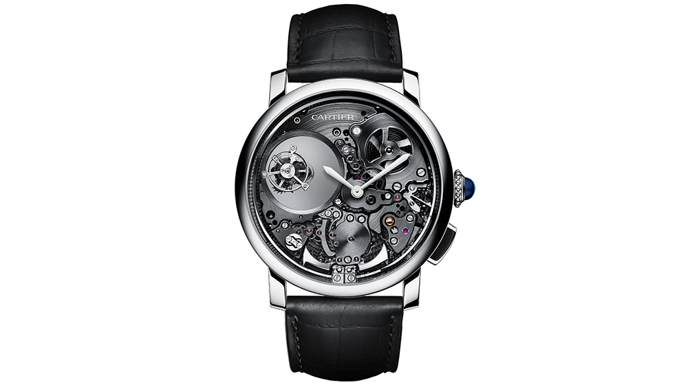 Cartier Mysterious  Double Tourbillon  watch WHRO0023