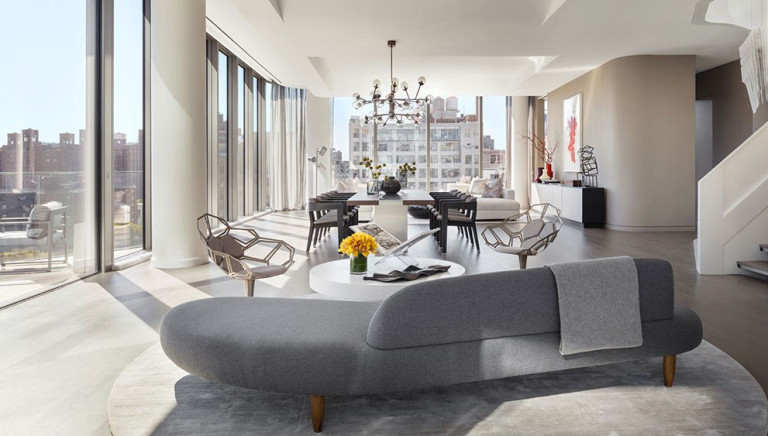 The Only Zaha Hadid Penthouse in Manhattan Lists for $68 Million