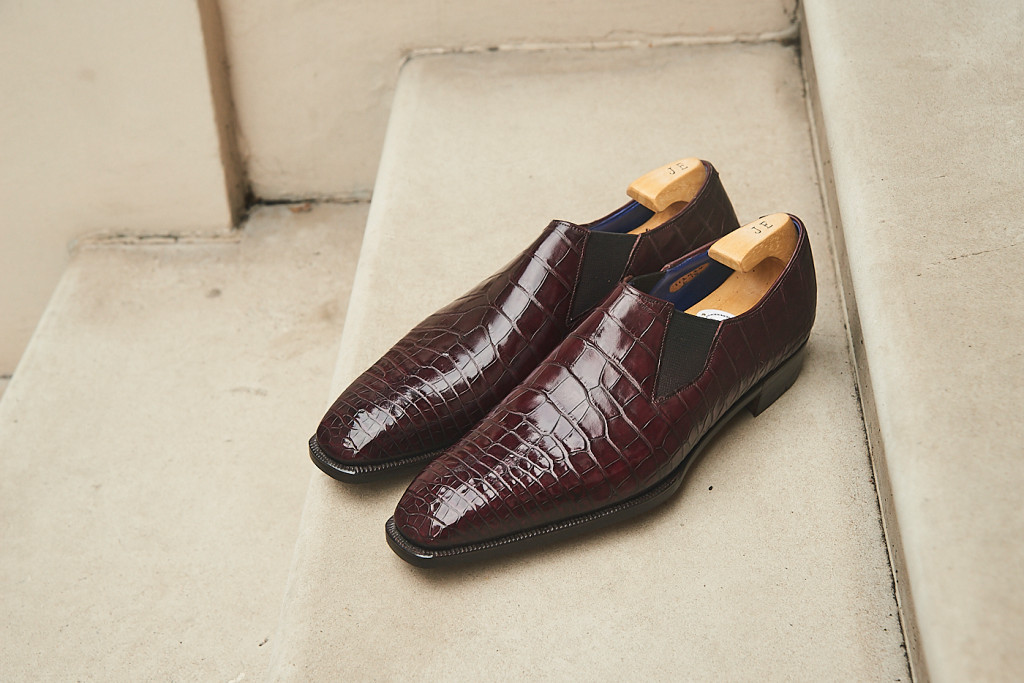The-Chelsea-shoe-in-Cleverley-Cabinet-Alligator
