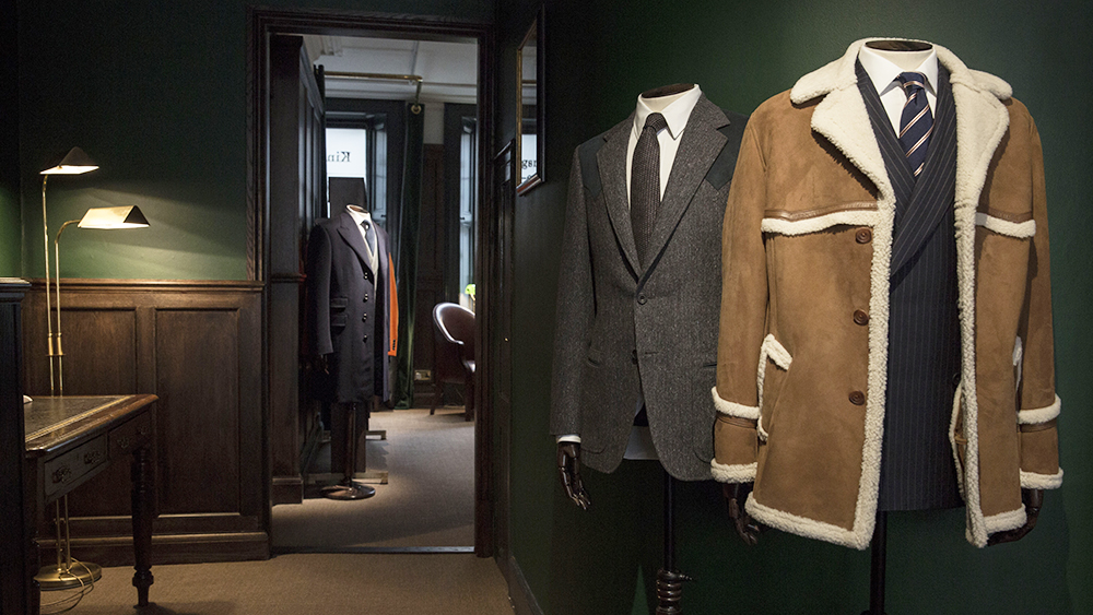 Kingsman + MR PORTER Shop 7