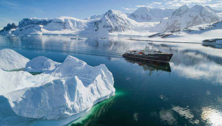 The 'Legend' Superyacht Is Now Taking Luxurious Tours of Antarctica