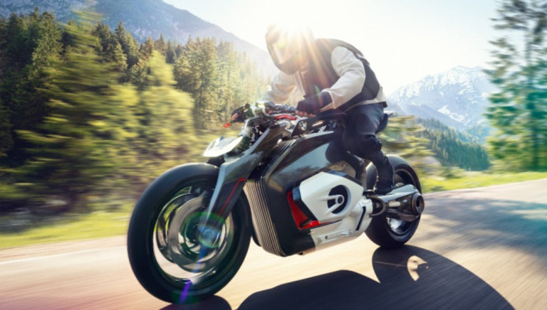 BMW's New Electric Motorcycle Concept Looks More Street-Ready Than Ever
