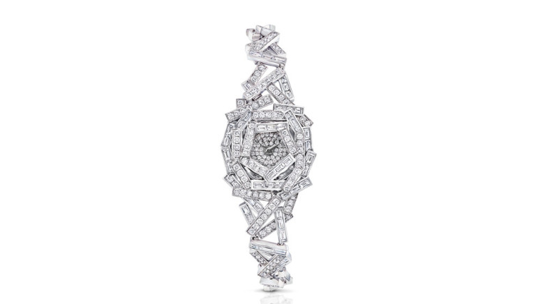 "Graff Goes Graphic With Its New Diamond ""Thread"" High-Jewellery Watch"