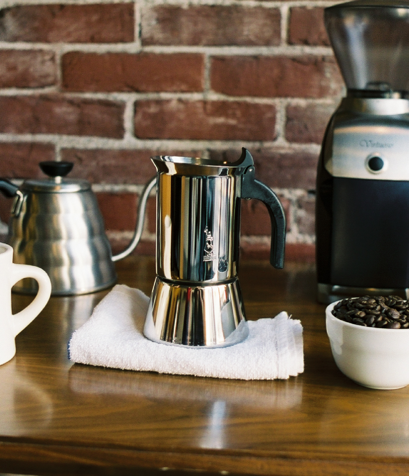 How to Brew in a Moka Pot