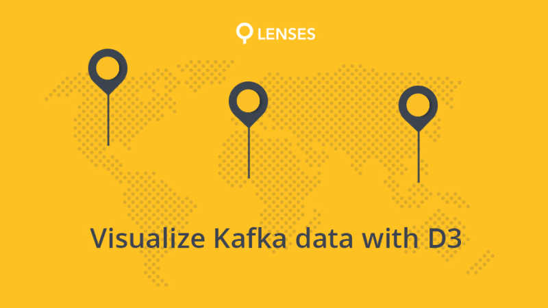 Tutorial - Using D3 to visualize data in Apache Kafka
