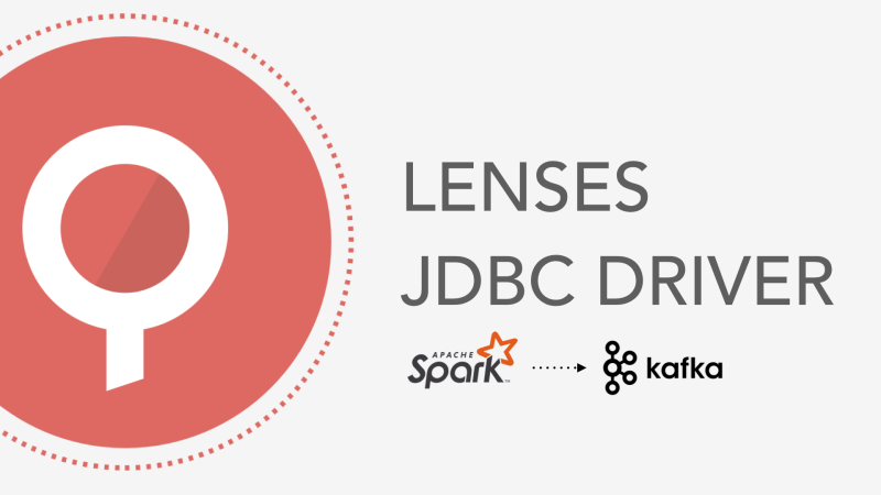 Using a Kafka JDBC driver with Apache Spark