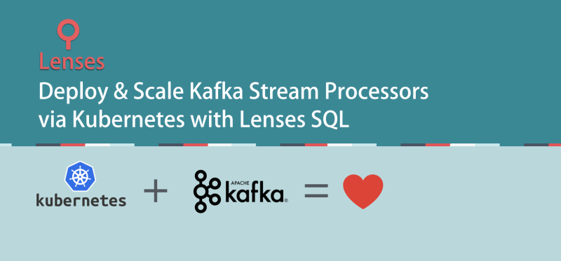 Using Lenses to scale SQL processors in Kubernetes