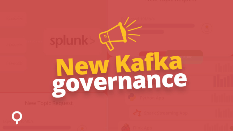 New Kafka governance: approval flows & app topology