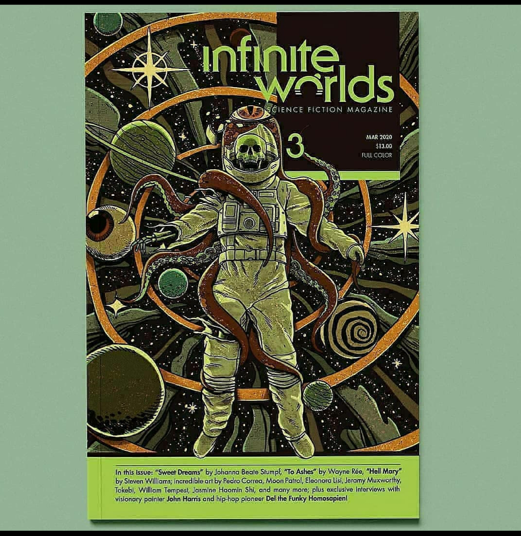 Issue 4 of Infinite Worlds Magazine