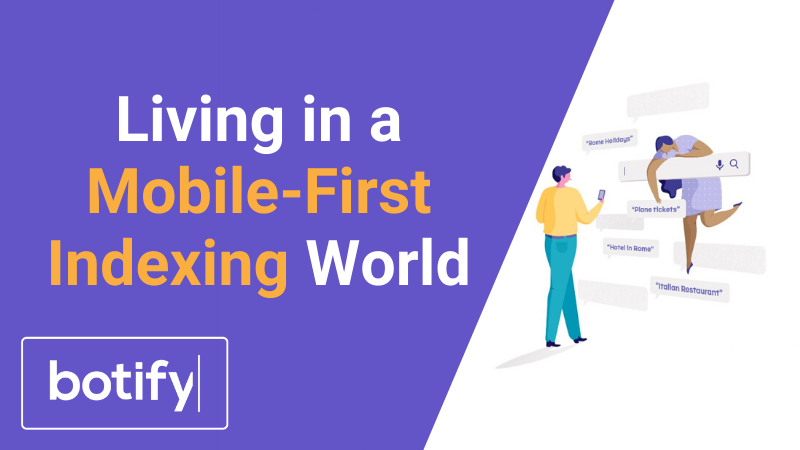 Living in a Mobile-First Indexing World