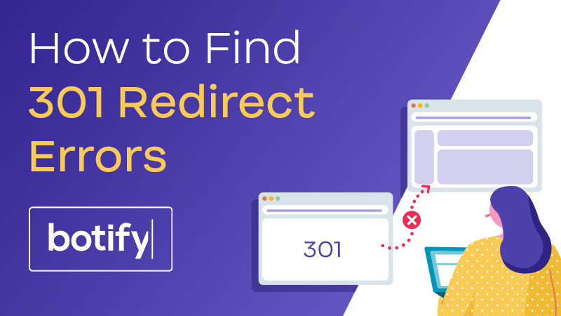 How to Find 301 Redirect Errors
