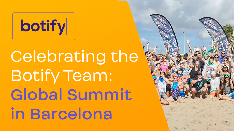 Celebrating the Botify Team: Global Summit in Barcelona