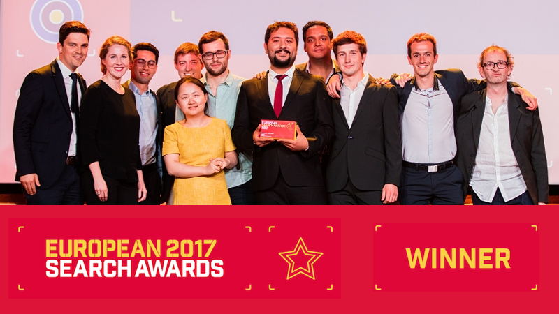 Botify Wins for Software Innovation at the European Search Awards!