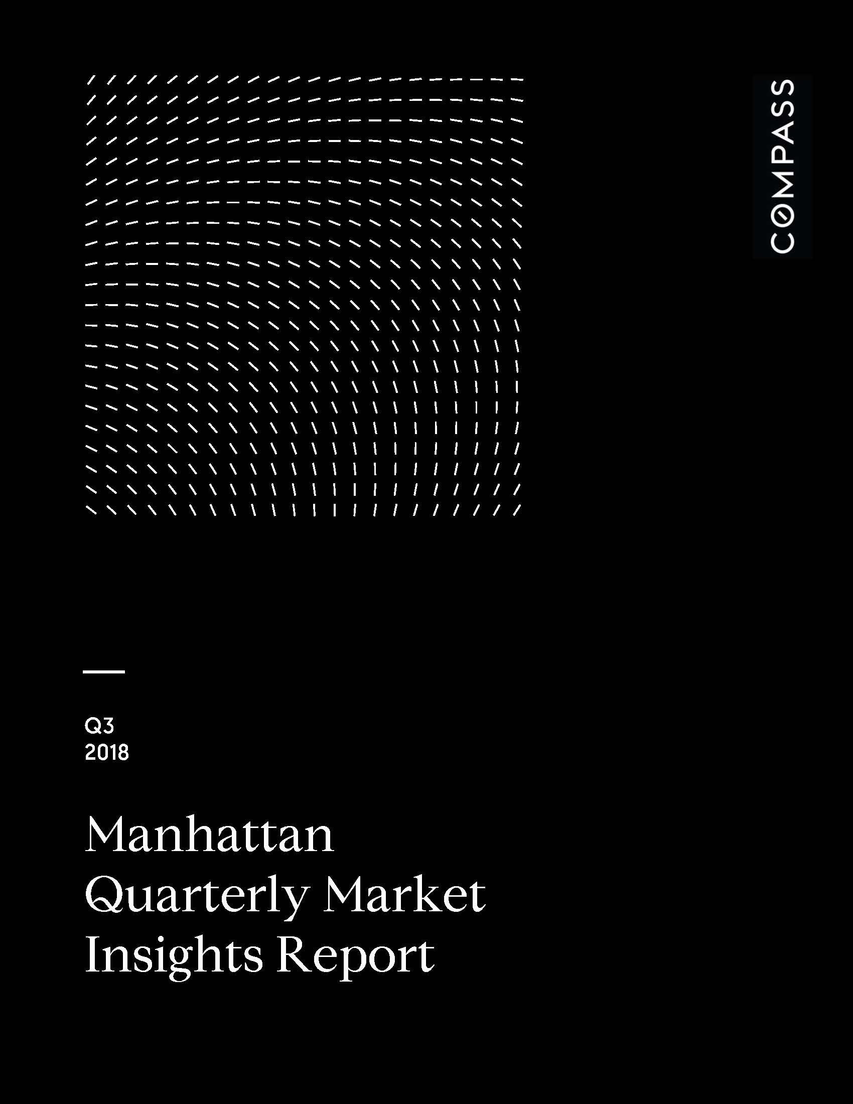 Manhattan Quarterly Market Insights Report - Q3 2018