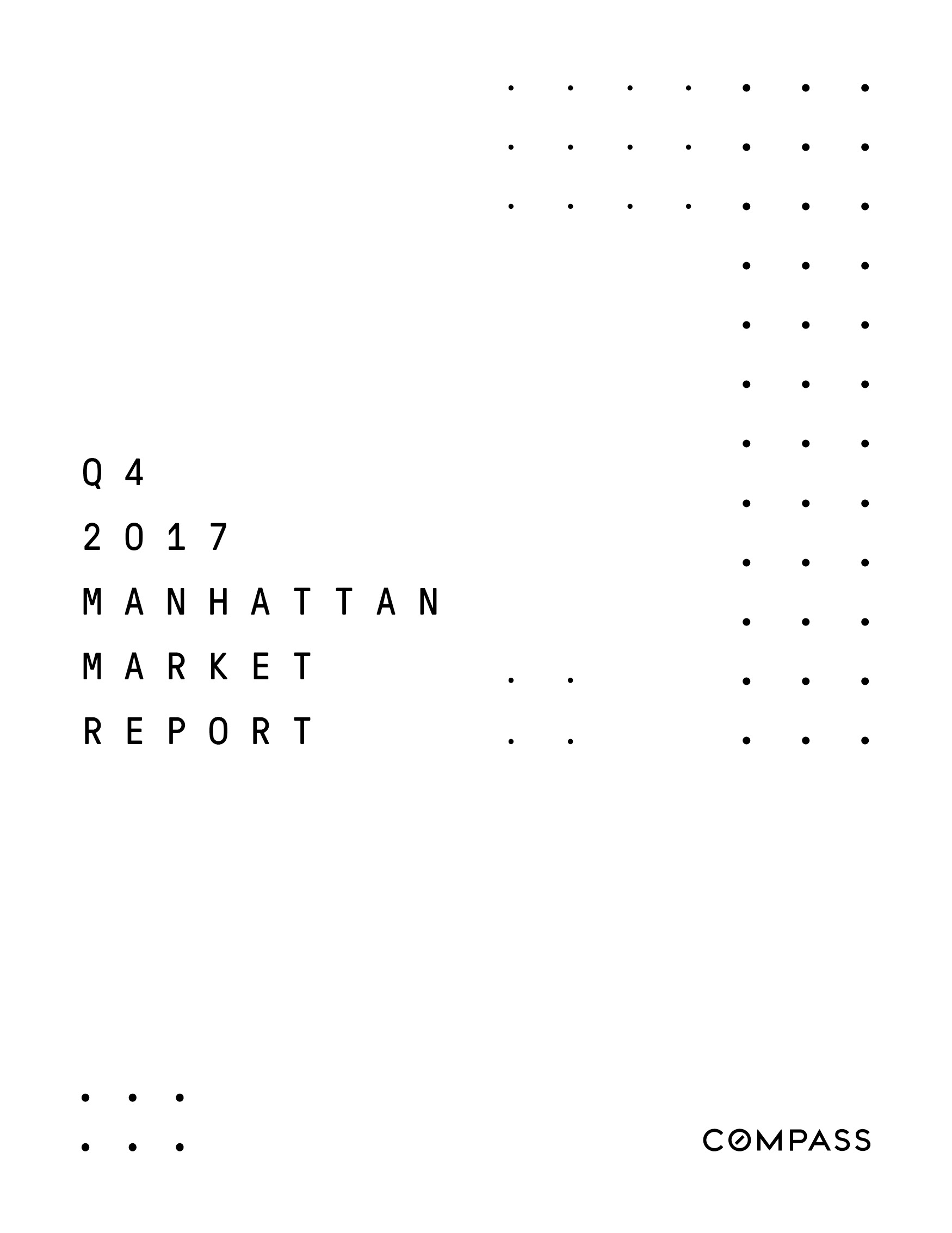 Manhattan Market Report - Q4 2017