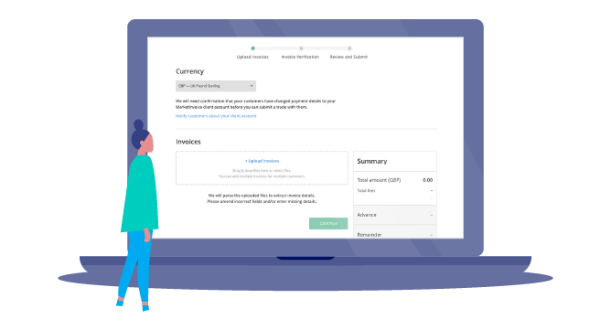 Upload your invoice
