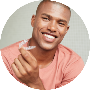 Custom aligners delivered straight to you