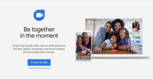 Google Duo Stay Connected