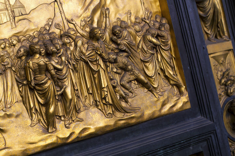 'The Gates of Paradise' on the Baptistery doors