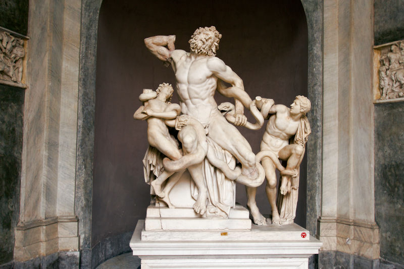 Laocoön & His Sons in the Vatican Museums