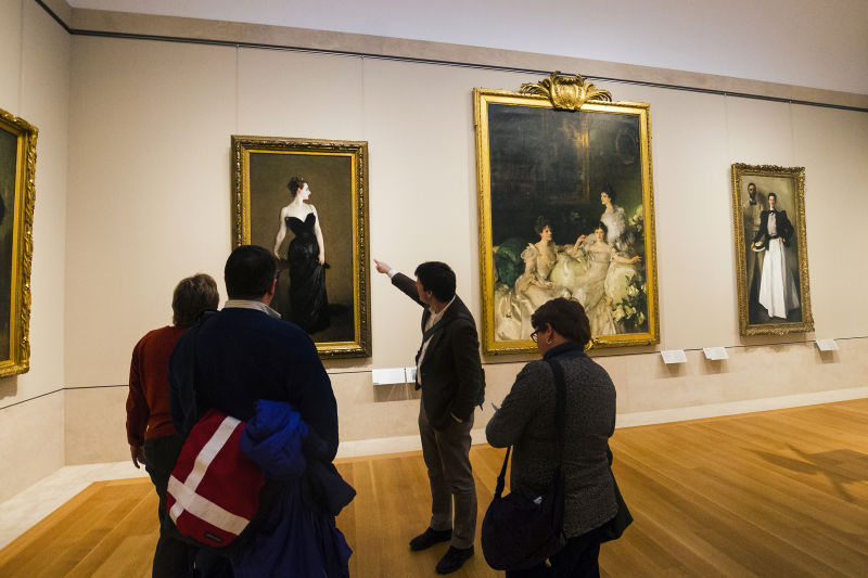 Expert guides help you decode and interpret one of America's finest art collections