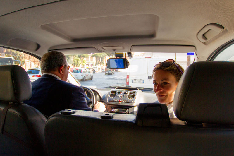 See Rome from your private, air-conditioned transport