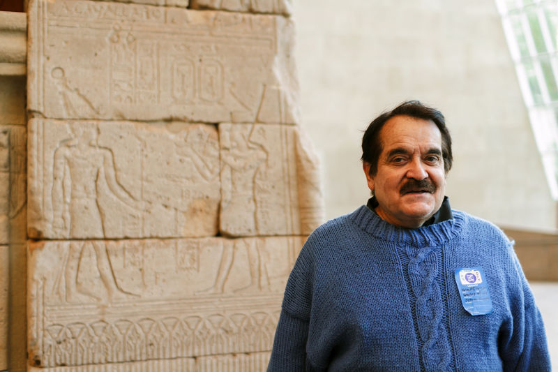 Visit the Temple of Dendur and understand its hieroglyphics