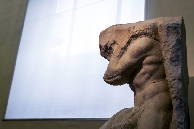 Michelangelo's sculptures feel more like a reveal than creation
